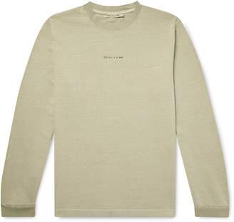 Alyx Logo-Print Cotton-Jersey T-Shirt