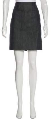 Helmut Lang Mini Denim Skirt