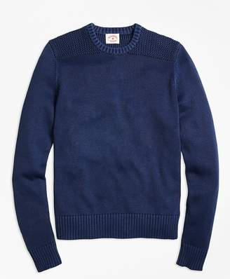 Garment-Dyed Crewneck Sweater $98.50 thestylecure.com