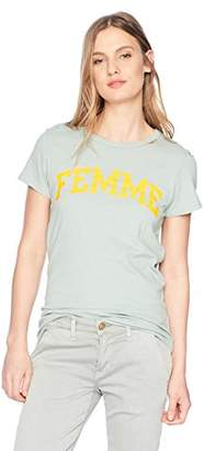 Pam & Gela Women's Femme Crew Neck Tee