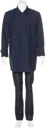 Isaia San Gennaro Virgin Wool Coat