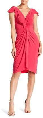 Taylor Twist Front Cap Sleeve Dress