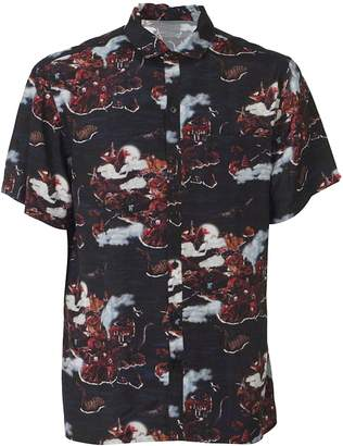 Lanvin Dinosaur Print Hawaiian Shirt