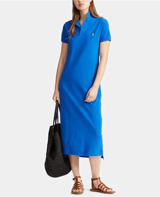 29da457456 Polo Ralph Lauren Cotton Polo Shirtdress