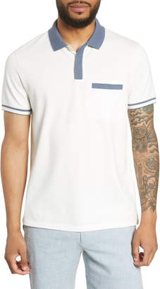 Club Monaco Jersey Pocket Polo