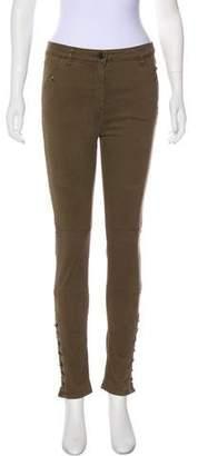 Belstaff Mid-Rise Skinny Pants
