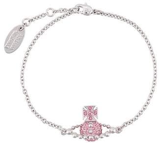 Vivienne Westwood embellished logo bracelet