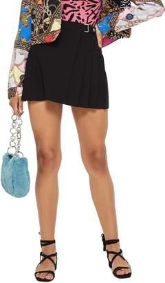 Topshop Petite Popper Tab Kilt Skirt