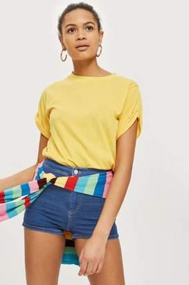 Topshop Womens Petite Joni Shorts
