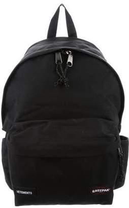 Vetements Tourist Canvas Backpack