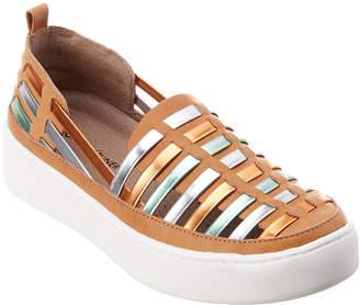 Donald J Pliner Cierra Leather Sneaker