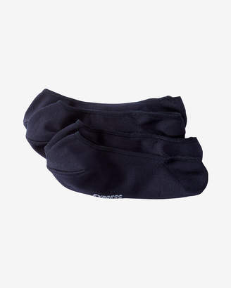 Express Two Pack Solid No-Show Socks