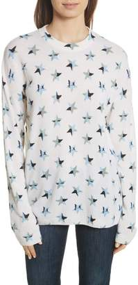 Equipment Bryce Star Print Cashmere Sweater