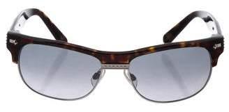 John Galliano Square Gradient Sunglasses