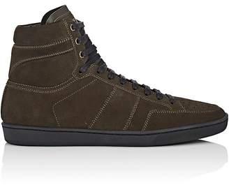 Saint Laurent Men's SL/10H Suede Sneakers