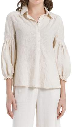 Max Studio Embroidered Tunic