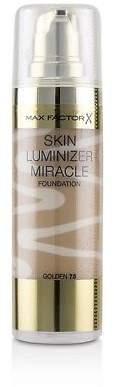 Max Factor NEW Skin Luminizer Miracle Foundation - # 75 Golden 30ml Womens