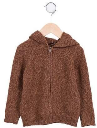 Dolce & Gabbana Girls' Hooded Wool Cardigan