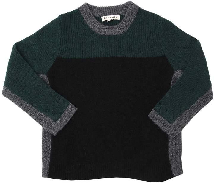 Caramel Baby And Child Cashmere, Angora, Wool Blend Sweater