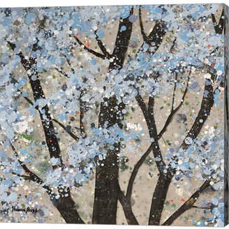 Helena Metaverse Winter Theme by Alves Canvas Art