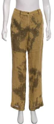 Michael Kors Acid-Washed Linen Pants
