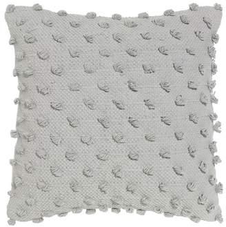 Acacia Solid Dove Cotton Cushion