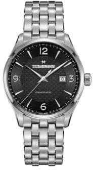 Hamilton Jazzmaster Viewmatic Stainless Steel Five-Link Bracelet Watch