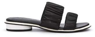 Kelsi Dagger Brooklyn Surf Leather Slide Sandal