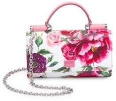 Dolce & Gabbana Dauphine French Flap Floral Bag