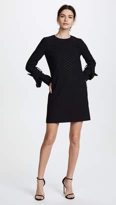 Victoria Beckham Victoria Twist Sleeve Shift Dress