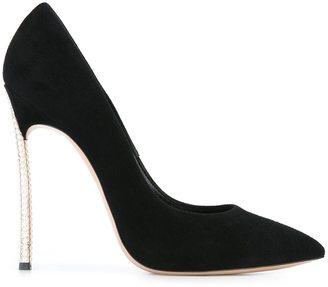 Casadei studded stiletto heel pumps $753.10 thestylecure.com