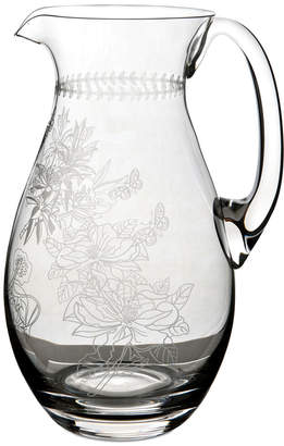 Portmeirion Botanic Garden Etched 66Oz. Pitcher