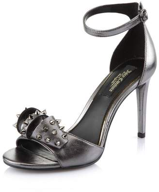 Juicy Couture Giada Studded Pewter High Heel Shoe