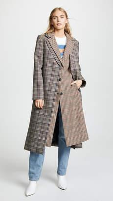 Monse Double Collar Coat