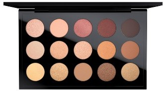 MAC Warm Neutral Times 15 Eyeshadow Palette - Warm Neutral $65 thestylecure.com