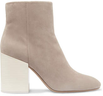 Mercedes Benz Castillo - Madox Suede Ankle Boots - Gray