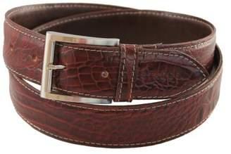 Estados Stitched Leather Belt