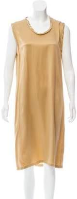 Saint Laurent Silk Midi Dress