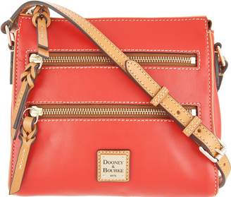 Dooney & Bourke Smooth Leather Triple Zip Crossbody - Peyton