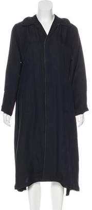 Undercover Linen-Blend Coat
