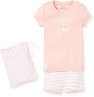 Ralph Lauren Cotton Graphic Pajama Set