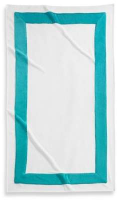 Corsica Premium Cotton Beach Towel in Aqua