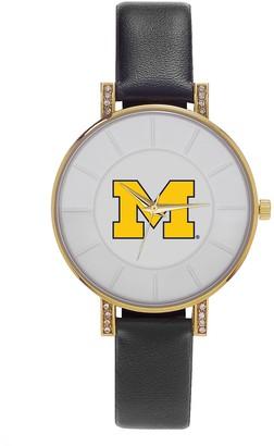 NCAA Men's Sparo Michigan Wolverines Lunar Watch