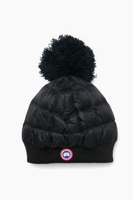 Canada Goose Black Down Pom Touk Hat