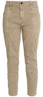 J Brand Byrnes Mid-Rise Stretch-Cotton Twill Skinny Pants