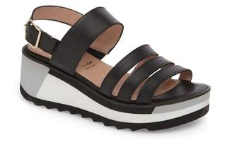 Wonders Slingback Wedge Sandal