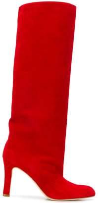 Manolo Blahnik knee-high boots