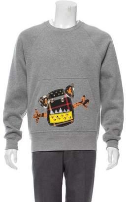 Burberry 2017 Creature Appliqué Sweatshirt