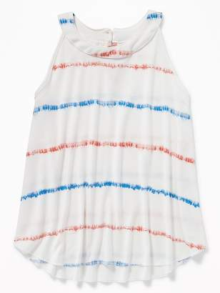 Old Navy High-Neck Jersey A-Line Tank for Girls