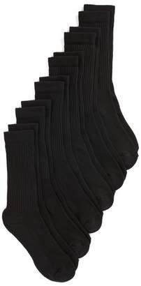 Nordstrom 6-Pack Athletic Crew Socks